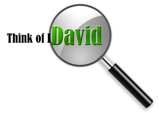 Think of David - Freelance proofreader for the jobs you don't have the time for
